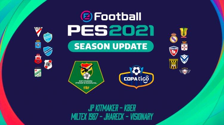 eFootball PES 2021 | Ya Disponible el OF de la Liga Boliviana