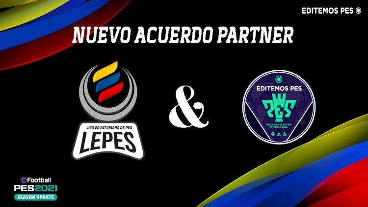 Acuerdo Partner con la Liga Ecuatoriana de PES