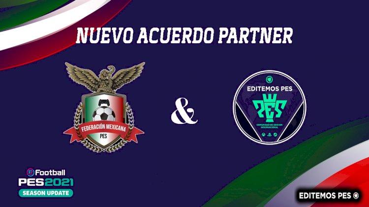 Anuncio del Nuevo Partner Global   Federación Mexicana de PES