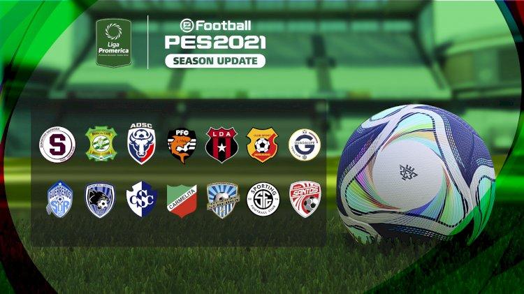 eFootball PES 2021 | Ya Disponible el OF de la Liga de Costa Rica