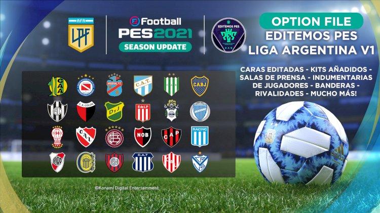 eFootball PES 2021 | Já disponível o OF da Liga Argentina