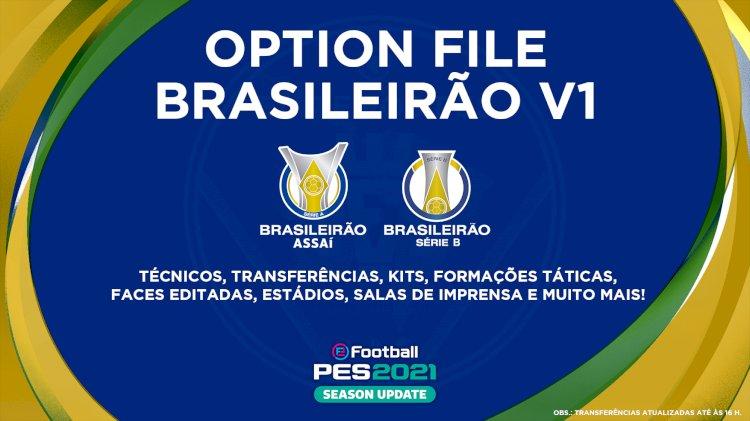 eFootball PES 2021   Já disponível o OF do Brasileirão V1