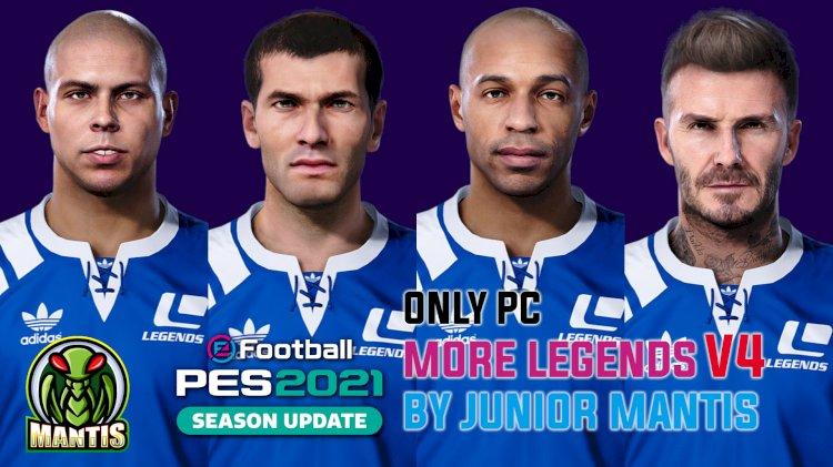 MyClub Legends Offline V4 Mode eFootball PES 2021 PC