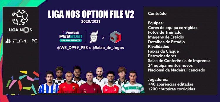 eFootball PES 2021 | Já disponível o OF Liga NOS V2