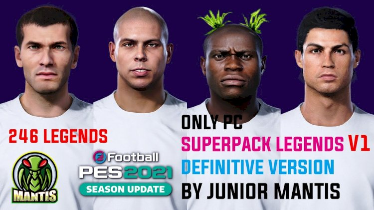 eFootball PES 2021 | SuperPack 246 Legends  by Junior Mantis