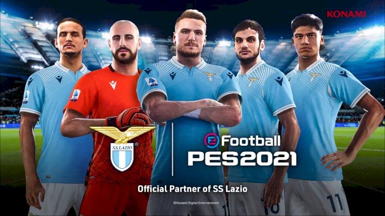 eFootball PES 2021| El SS Lazio es nuevo Partner Oficial de PES 2021