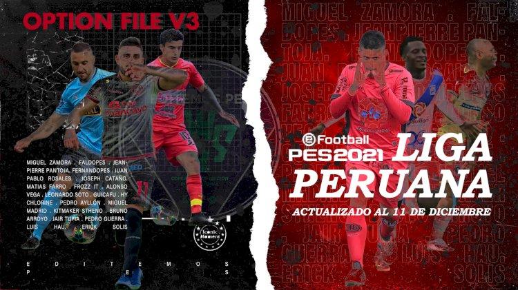eFootball PES 2021 | Ya Disponible el OF V3 de la Liga Peruana