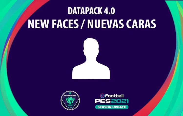 eFootball PES 2021 | Listado de los Nuevos Rostros del DLC 4.0