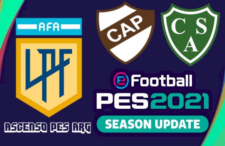 eFootball PES 2021 | Ya Disponible el OF Ascendidos a la liga profesional (Sarmiento y Platense)