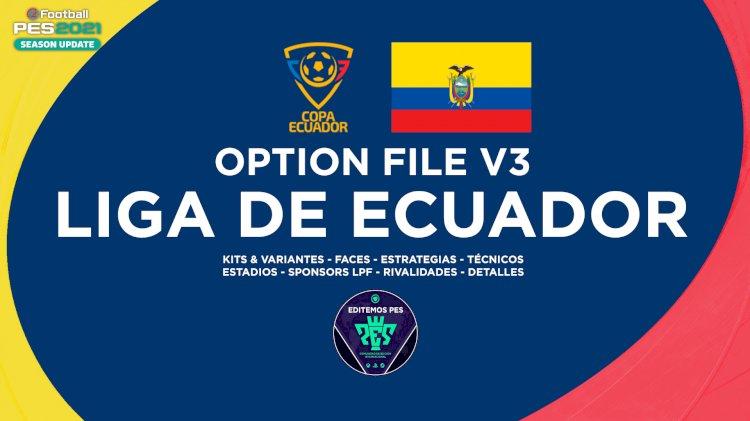 eFootball PES 2021 | Ya Disponible el OF de la Liga Ecuatoriana V3