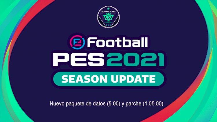 eFootball PES 2021 | Nuevo paquete de datos (5.00) y parche (1.05.00) disponible