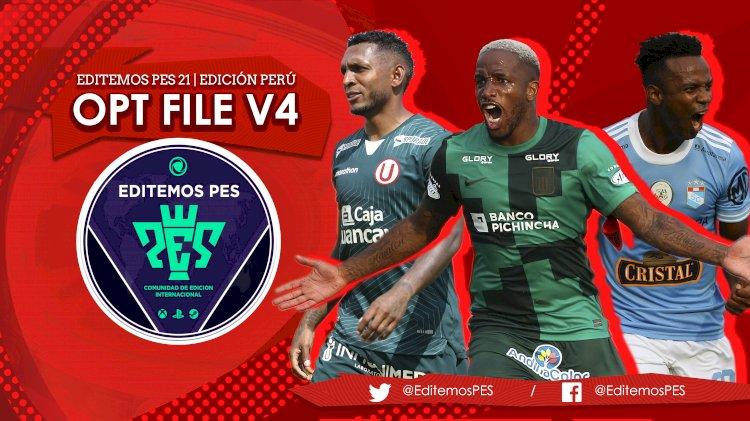 eFootball PES 2021 | Ya Disponible el OF V4 de la Liga Peruana