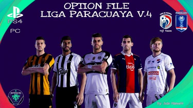 eFootball PES 2021 | Ya Disponible el OF V4 de la Liga Paraguaya