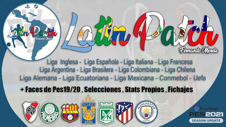 eFootball PES 2021   LatinPatch21 Temporada 21/22