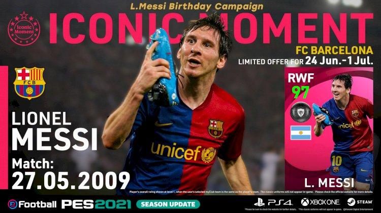 L. MESSI Birthday Campaign